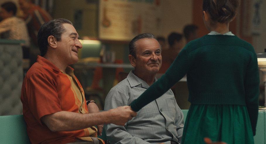 "Robert De Niro and Joe Pesci in 2019's ""The Irishman."""
