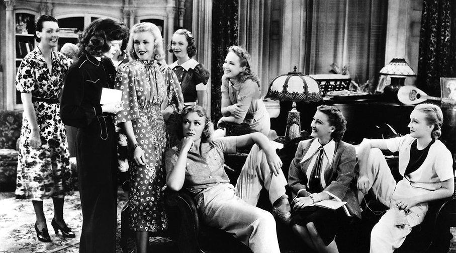 "Still from 1937's ""Stage Door."""
