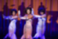 "Anika Noni Rose, Jennifer Hudson, and Beyoncé in 2006's ""Dreamgirls."""