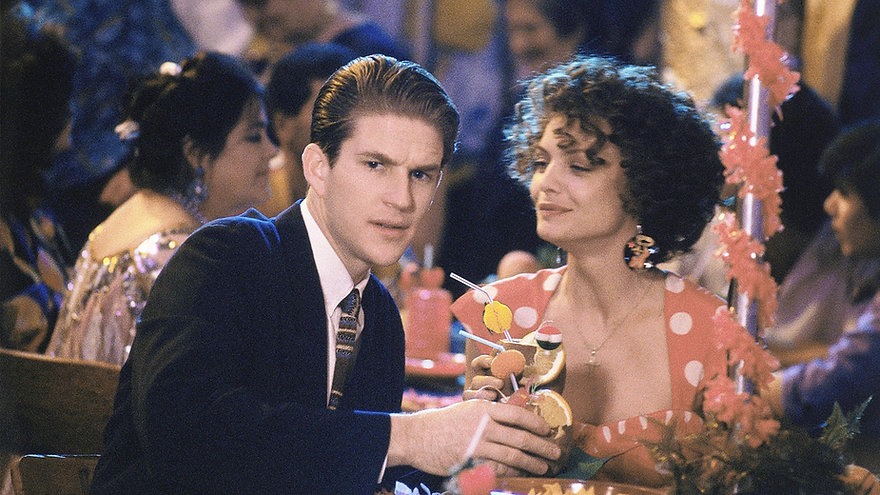 """Matthew Modine and Michelle Pfeiffer in 1988's """"Married to the Mob."""""""