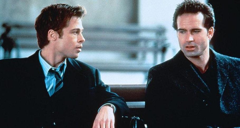 "Brad Pitt and Jason Patric in 1996's ""Sleepers."""