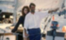 "Nicole Kidman and Sam Neill in 1989's ""Dead Calm."""