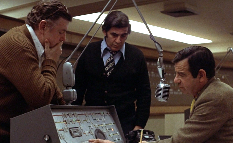 """Movie still from 1974's """"The Taking of Pelham One Two Three."""""""
