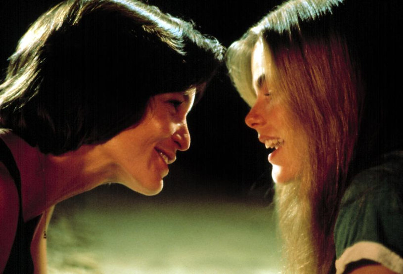 """Patrice Donnelly and Mariel Hemingway in 1982's """"Personal Best."""""""