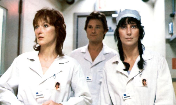"Movie still from 1983's ""Silkwood."""