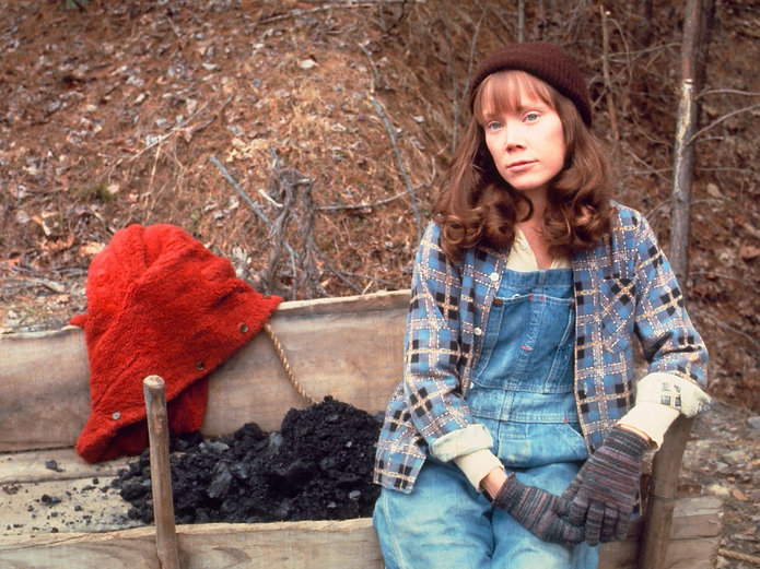 "Still from 1980's ""Coal Miner's Daughter."""