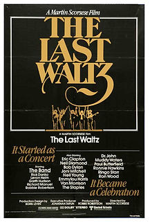 """Movie poster for 1978's """"The Last Waltz."""""""