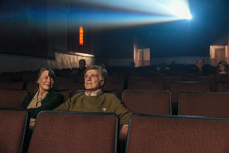 "Sissy Spacek and Robert Redford in 2018's ""The Old Man & the Gun."