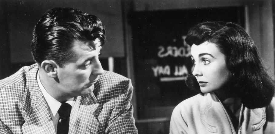 """Still from 1953's """"Angel Face."""""""