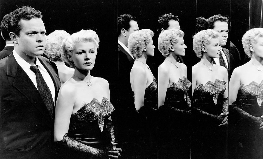 "Still from 1947's ""The Lady from Shanghai."""