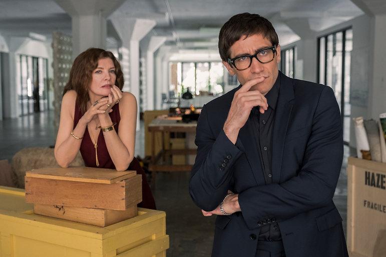 """Rene Russo and Jake Gyllenhaal in 2019's """"Velvet Buzzsaw."""""""