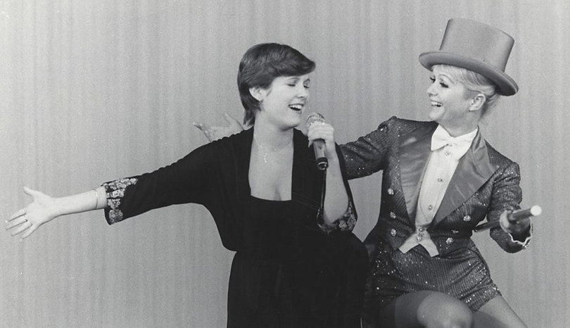 """Movie still from 2016's """"Bright Lights: Starring Carrie Fisher and Debbie Reynolds."""""""