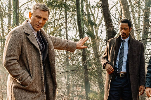 """Daniel Craig and Lakeith Stanfield in 2019's """"Knives Out."""""""