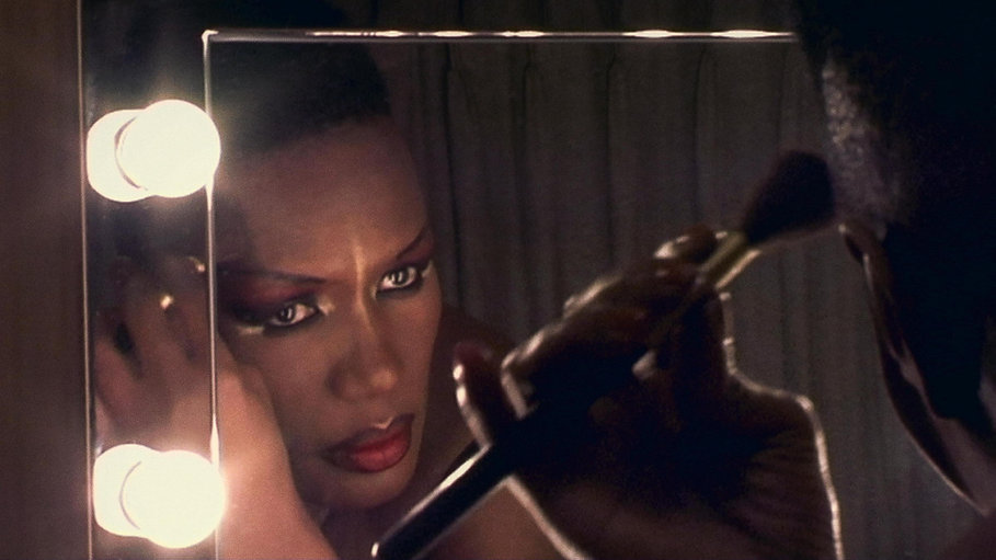 "Grace Jones in 2018's ""Grace Jones: Bloodlight and Bami."""
