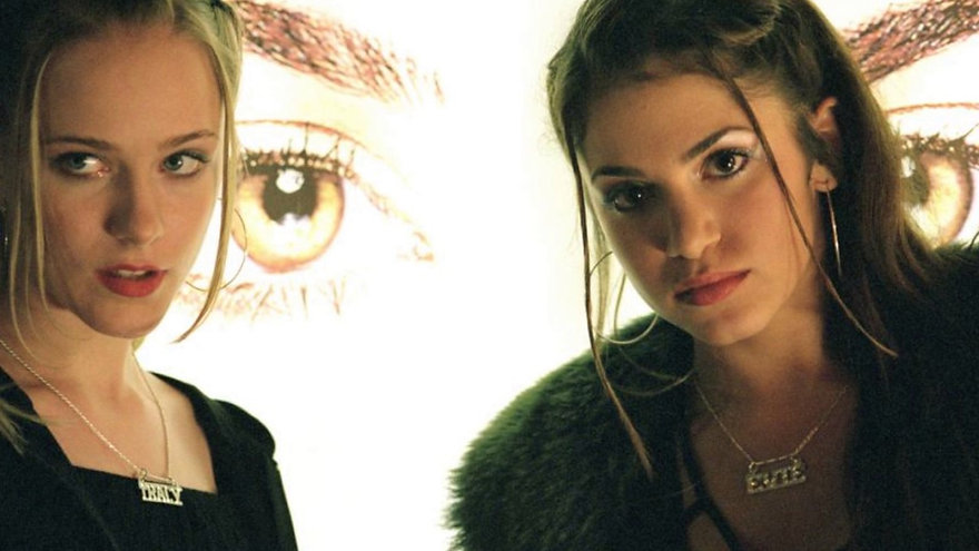 "Evan Rachel Wood and Nikki Reed in 2003's ""Thirteen."""
