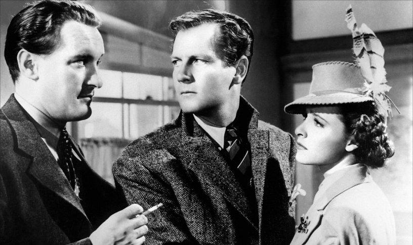 "Movie still from 1940's ""Foreign Correspondent."""