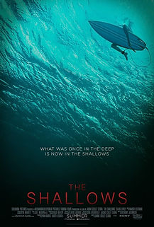 """Movie poster for 2016's """"The Shallows."""""""