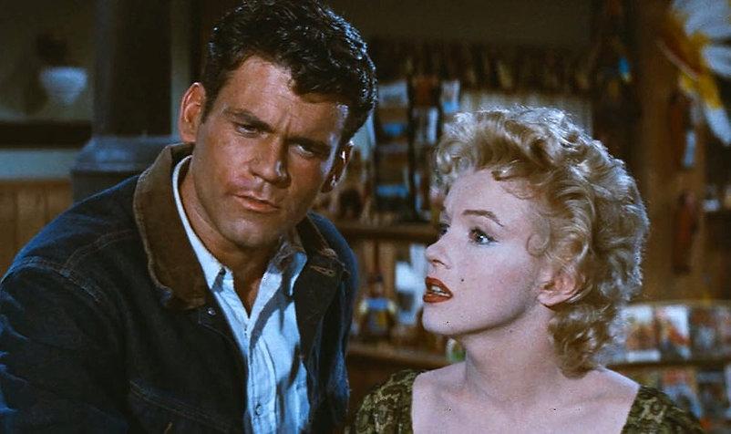 "Movie still from 1956's ""Bus Stop."""