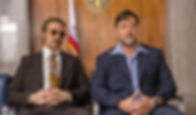 """Ryan Gosling and Russell Crowe in """"The Nice Guys."""""""