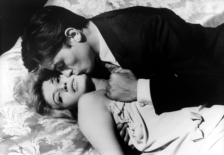 """Movie still from 1962's """"L'Eclisse""""."""