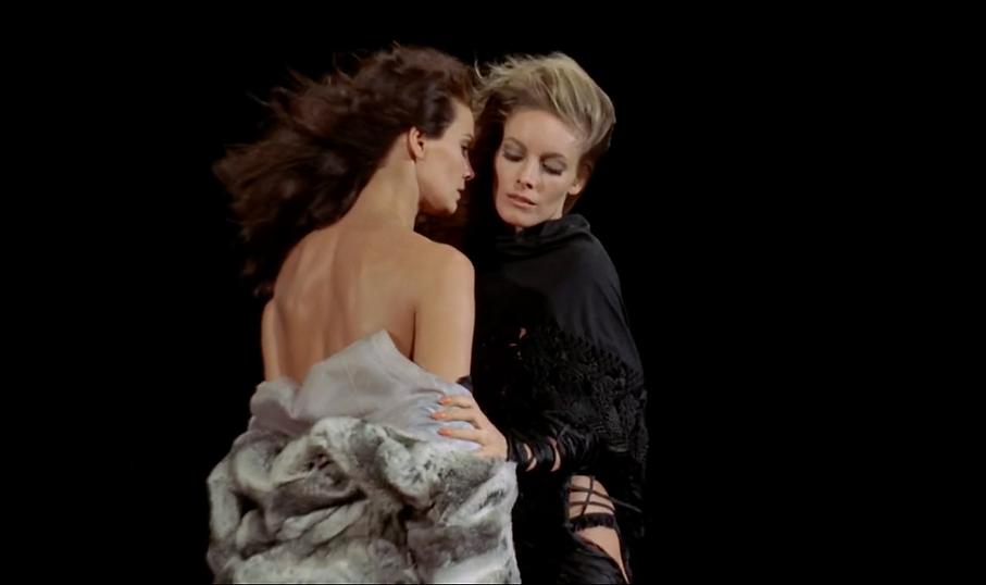 "Still from 1971's ""A Lizard in a Woman's Skin."""