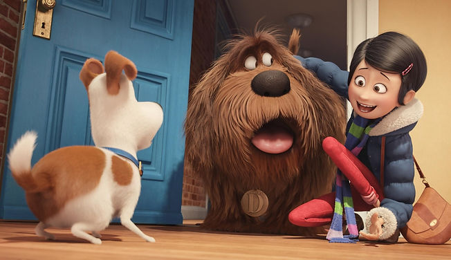 """Movie still from 2016's """"The Secret Life of Pets."""""""