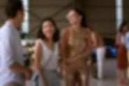 "Constance Wu and Sonoya Mizuno in 2018's ""Crazy Rich Asians."""
