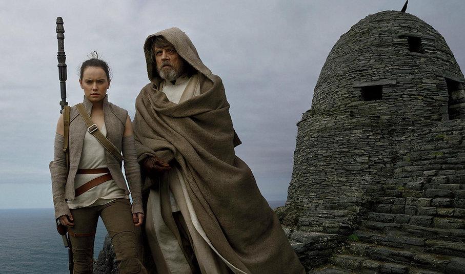 """Still from 2017's """"Star Wars: The Last Jedi."""""""