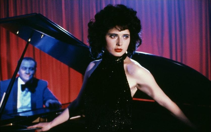 """Isabella Rossellini in 1986's """"Blue Velvet."""""""