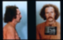 "The mugshot of Randall Adams in 1988's ""The Thin Blue Line."""