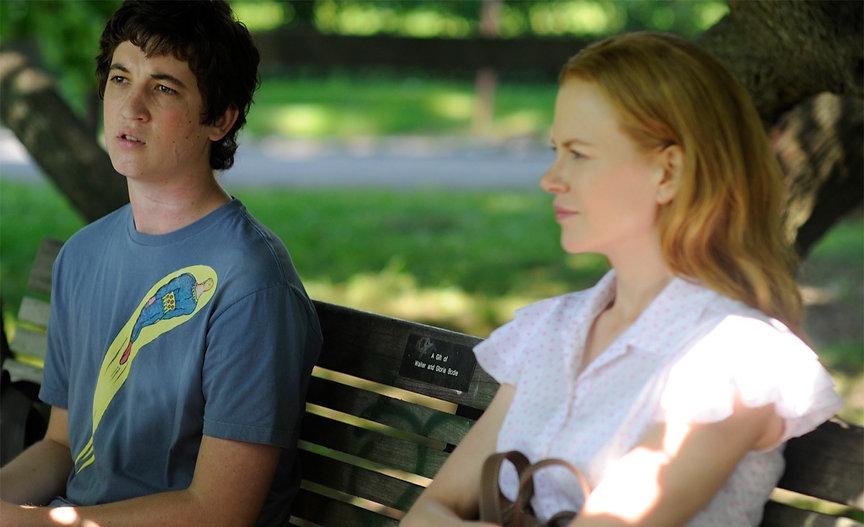 """Miles Teller and Nicole Kidman in 2010's """"Rabbit Hole."""""""