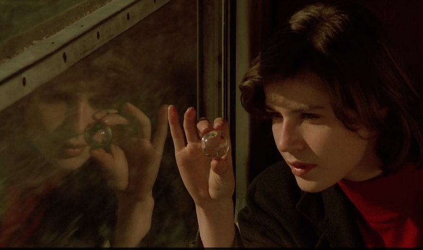 "Irene Jacob in 1991's ""The Double Life of Veronique."""
