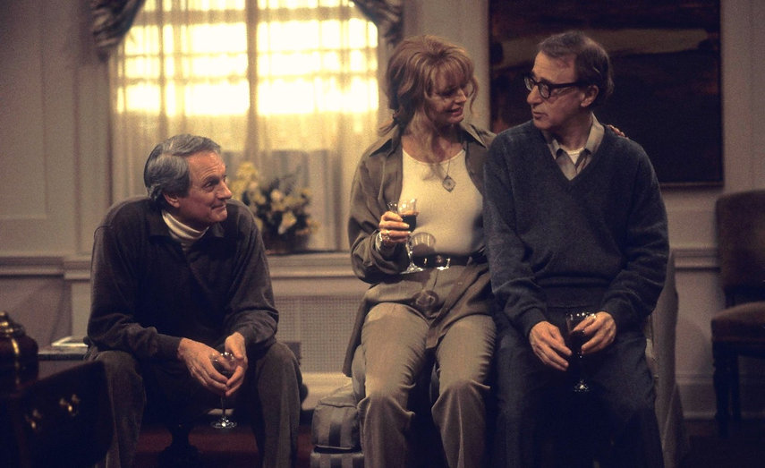"Woody Allen, Goldie Hawn, and Alan Alda in 1996's ""Everyone Says I Love You."""