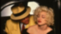 """Warren Beatty and Madonna in 1990's """"Dick Tracy."""""""