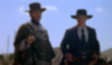 """Clint Eastwood and Lee Van Cleef in 1965's """"For a Few Dollars More""""."""