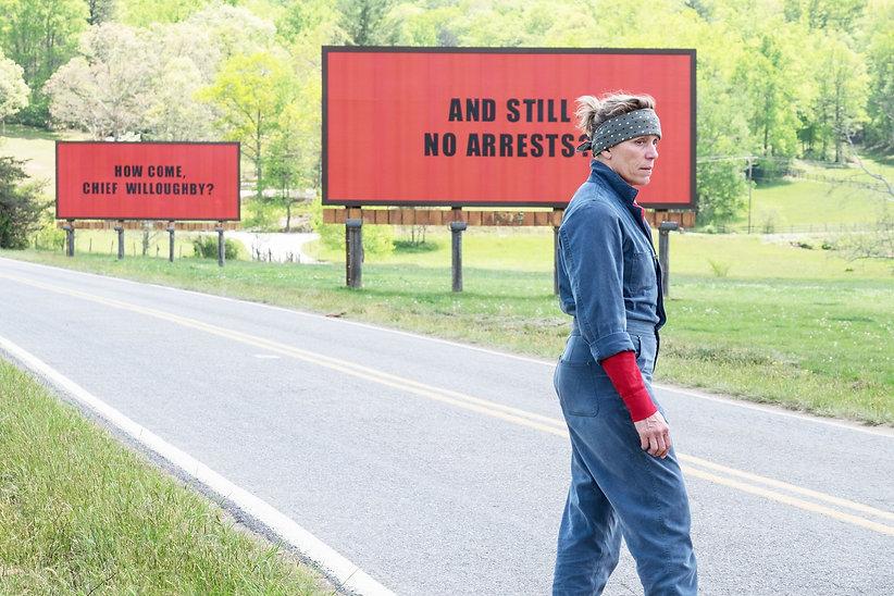 """Still from 2017's """"Three Billboards Outside Ebbing, Missouri."""""""