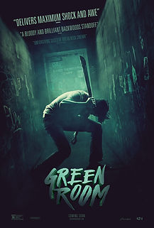 """Movie poster for 2016's """"Green Room."""""""