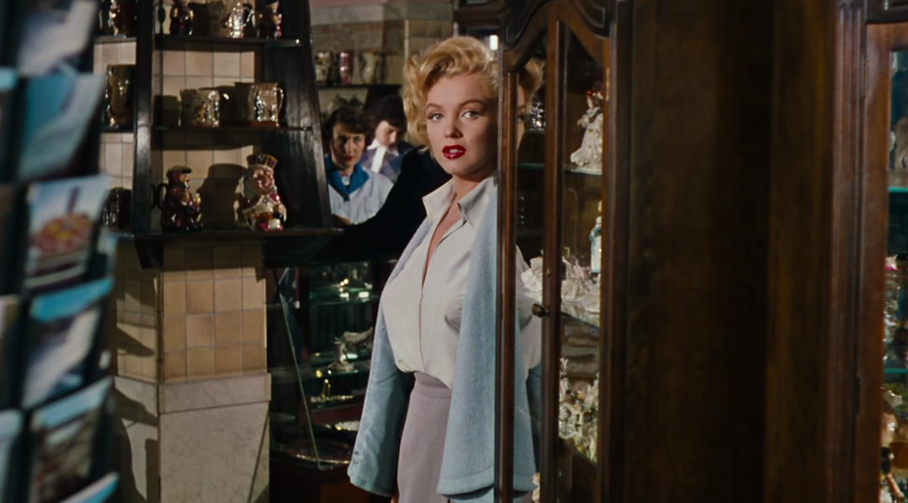 "Marilyn Monroe in 1953's ""Niagara."""