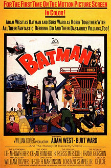 """Movie poster for 1966's """"Batman: The Movie."""""""