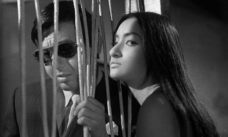 "Joe Shishido and Annu Mari in 1967's ""Branded to Kill."""