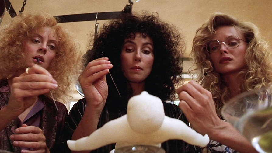 """Still from 1987's """"The Witches of Eastwick."""""""