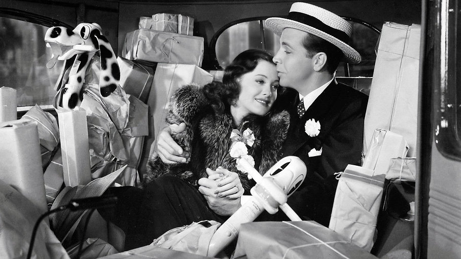 """Still from 1940's """"Christmas in July."""""""