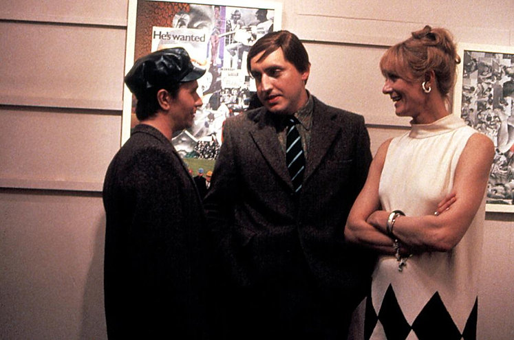 "Gary Oldman, Alfred Molina, and Vanessa Redgrave in 1987's ""Prick Up Your Ears."""