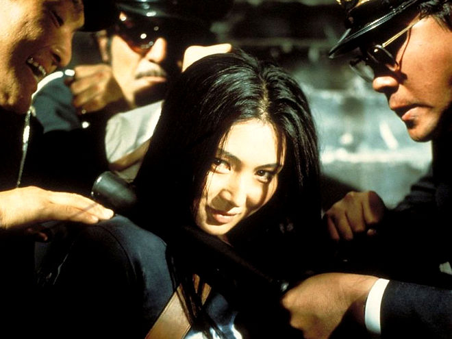 """Meiko Kaji in 1972's """"Female Prisoner #701: Scorpion."""""""