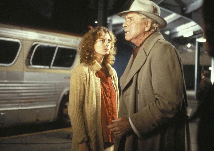 "Susan Sarandon and Burt Lancaster in 1980's ""Atlantic City."""