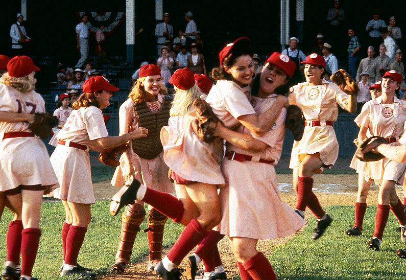 """Still from 1992's """"A League of Their Own."""""""