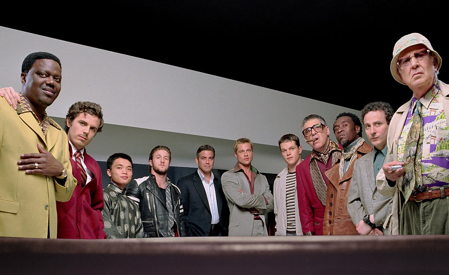 """The cast of 2001's """"Ocean's Eleven."""""""