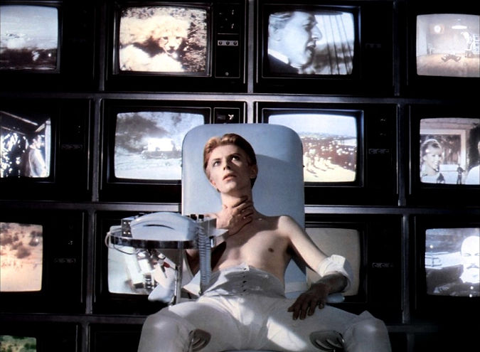 """David Bowie in 1976's """"The Man Who Fell to Earth."""""""
