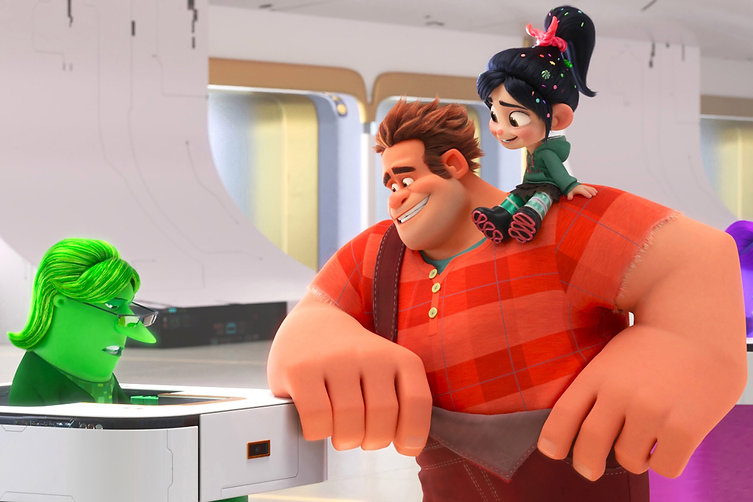 """From 2018's """"Ralph Breaks the Internet."""""""