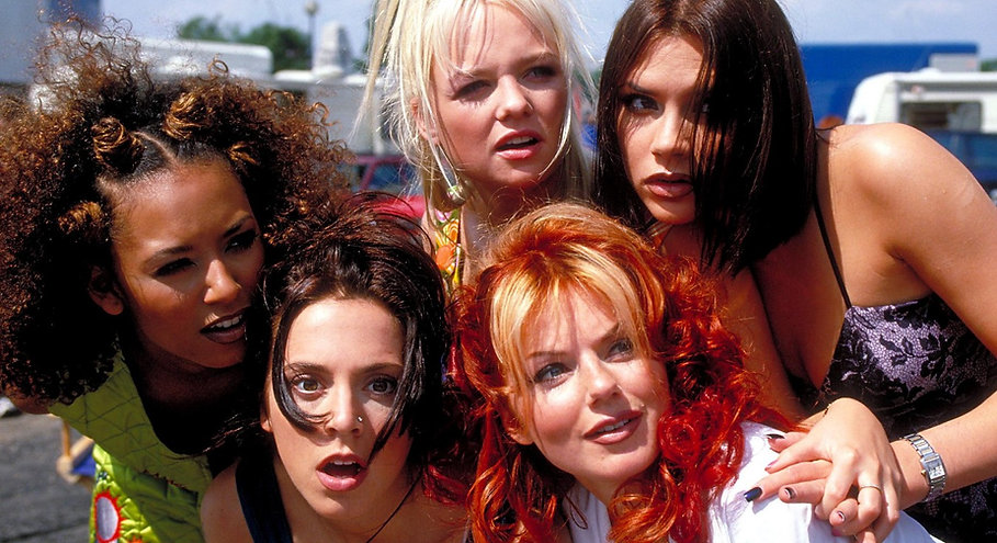 """The Spice Girls in """"Spice World."""""""
